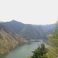 Asagiri Lake sinshiro aichi pf (from radio Reflective plate :Elevation 382m)
