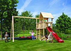 Trend Schaffen Sie in Ihrem Garten ein Kinderparadies mit dem Kinderspielhaus Fidibus inklusive vielen Extras