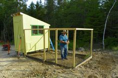 Free Downeast Thunder Farm Chicken Coop Plans...free downloadable plans.