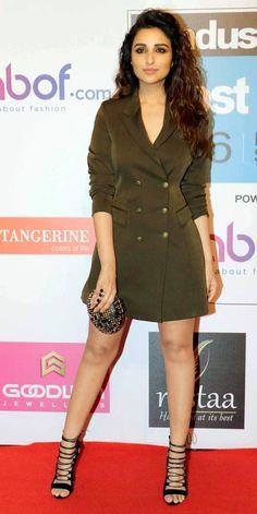 Parineeti Chopra at Hindustan Times Most Stylish Awards 2016.