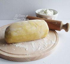 shortbread dough with yogurt