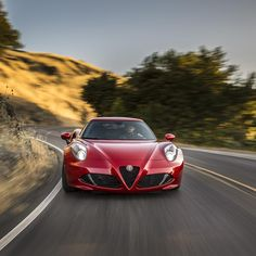 """""""Let the gas pedal be your muse. #4C #AlfaRomeo #Drive #PicofTheDay #PhotoOfTheDay #Cars #Car #Auto #Automotive #CarsofInstagram #Italian"""""""