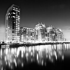 Salford Quays, Manchester.