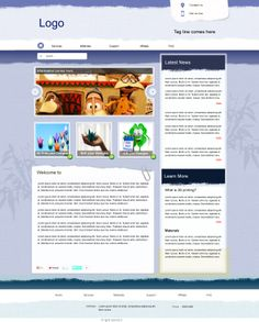 Sample Layout for professional design - 2