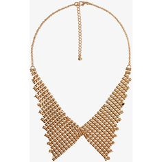Armored Collar Necklace ($6.80) ❤ liked on Polyvore