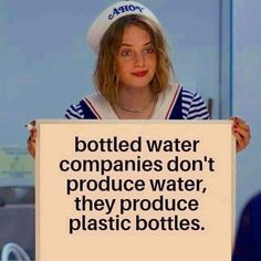 It's a simple thing to do. Save the environment by using a reusable water bottle, instead of creating more plastic! Save Planet Earth, Save Our Earth, Save The Planet, The Words, Image Citation, Thing 1, Funny Quotes About Life, Funny Life, Global Warming
