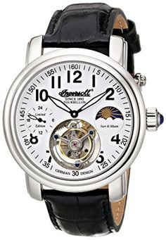Ingersoll Men's IN5306WH Lahota Tourbillon Analog Display Mechanical Hand Wind Black Watch by Ingersoll -- Awesome products selected by Anna Churchill