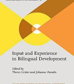 Input And Experience In Bilingual Development PDF