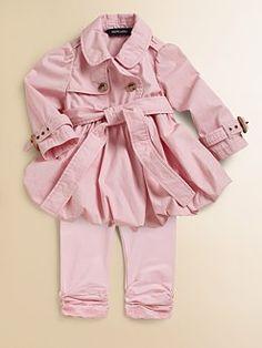Ralph Lauren..pink trench