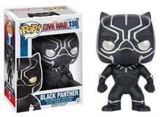 BLACK PANTHER CAPTAIN AMERICA CIVIL WAR PANTERA NERA PVC MARVEL figure GAMESHOP
