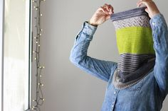 3 Color Cashmere Cowl Knitting Kit