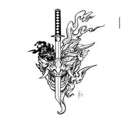 Japan Tattoo Design, Japanese Tattoo Designs, Japanese Tattoo Art, Japanese Sleeve Tattoos, Tattoo Design Drawings, Tattoo Sleeve Designs, Tattoo Sketches, Tattoo Designs Men, Simbolos Tattoo