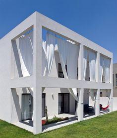 house s, tzur moshe, 2008 by Sharon Neuman Architects #architecture #design #white #facade
