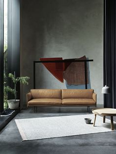 Visually light and elegant sofa series with deep seating for high . Available in various textiles from Kvadrat or Arve and in Silk leather from Camo Leathers. Comes as a & a Outliner for Muuto Sofa Design, Furniture Design, Berlin Design, Elegant Sofa, 3 Seater Sofa, Leather Sofa, Scandinavian Design, Interior Architecture, Living Room Ideas