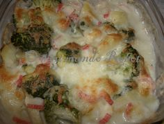 Brócolos gratinados