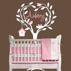 Etsy, Wall Decal, Nursery, Girl. I love this! It's even one of the names I picked for my future daughter. Except spelled differently