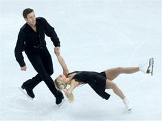 DAY 2:  Kirsten Moore-Towers and Dylan Moscovitch of Canada compete in the Figure Skating Team Pairs Free Skating