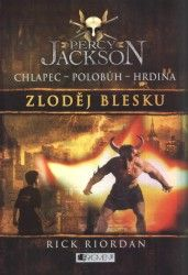 Czech cover of Percy Jackson and the Olympians, Book The Lighting Thief, by Rick Riordan. Rick Riordan, The Lightning Thief, Percy Jackson Books, Jackson 5, Olympians, Book 1, Roman, Fantasy, My Favorite Things