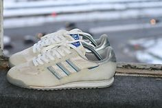 4182d46d41d2 Vintage-Rare-80 -039-s-Adidas-Trainers-Squash-Seaside-Rom-Design-Germany-1980-UK-8