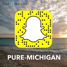 We're proud to announce that #PureMichigan is now on Snapchat! Be sure to engage with us at (at)Pure-Michigan for beautiful real-time views from around the Great Lakes state. Take as many screenshots as you like and share your snaps with us!