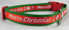 Merry Christmas Dog Collar