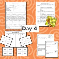 Unit 1 is Foundations of Number. In this unit, students will learn place value through 100,000. They will compose and decompose numbers with concrete objects, pictorial models and expanded form. They will also compare and order numbers using symbols and words. This unit is scheduled for 8 days. Math Lesson Plans, Math Lessons, 3rd Grade Math Worksheets, Expanded Form, Math Talk, Learning Targets, Student Data, 8 Days, Guided Math