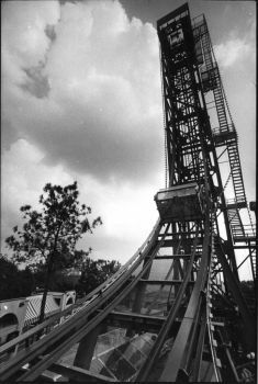 The Sky Screamer at AstroWorld pictured on April 1983