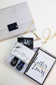 Lux Calligraphy Kit for wordy peeps | Lamplighter London