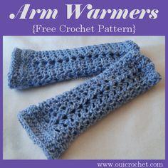 Arm Warmers ~ Oui Crochet