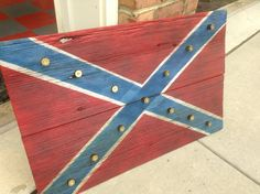Barn Wood Confederate Battle Flag. The stars are made from 12 gauge shotgun shells.