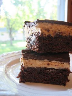 Semi-homemade Peanut Butter Truffle Brownies Peanut Butter Truffles, Homemade Peanut Butter, Brownie Recipes, Dessert Recipes, Desserts, Semi Homemade, Holiday Recipes, Brownies, Sweet Tooth