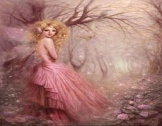 PINK FAIRY - Fantasy & Abstract Background Wallpapers on Desktop ...