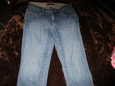 2 Pairs Women's Size 6 Teal Shorts & Blue Jean Capris by St. John's Bay-Izod #IzodStJohnsBay