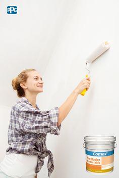 El Sellador Entitable prepara, protege y además, le da color a tus paredes antes del acabado final.  #ProductoComex #Comex #ComexLATAM #Colorful #Proteccion #Ideas #Acabados #Color #Decor #Walls