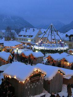 Christmas Market, Mariazell, Austria