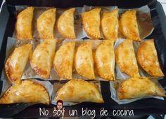 No soy un blog de cocina: Receta paso a paso, imagen a imagen EMPANADILLAS RELLENAS DE ATÚN Y HUEVO, hechas al horno