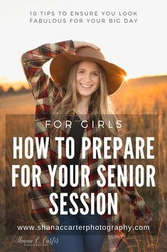 How to prepare for your senior session (for girls). Things to do in the days before your senior porter session to ensure you look your best! Senior Photography, Photography Tips, Days For Girls, Senior Session, Big Day, Education, Graduation Pictures, Senior Girl Photography, Onderwijs