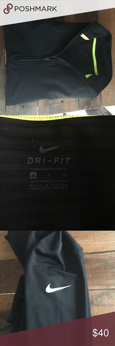 Nike Pro Dri-Fit Compression jacket I purchased this a couple months ago for outdoor running. I've since joined a gym and it isn't necessary for warmth. In excellent condition! Laundered twice. Nike Tops Sweatshirts & Hoodies