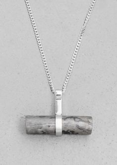 Stone Bar Necklace | Stone Bar Necklace |  Other Stories