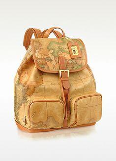 539b694f21 Alviero Martini 1A Classe 1a Prima Classe - Two Pocket Backpack