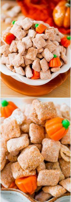 Pumpkin Spice Puppy Chow