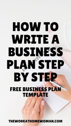 Free Business Plan, Business Plan Template Free, Small Business Plan, Creating A Business Plan, Business Advice, Small Business Marketing, Business Motivation, Start Up Business, Business Entrepreneur