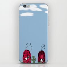 A Clover For My Lover iPhone Cases. By One Artsy Momma