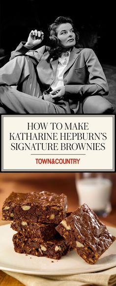 Sweet treat - Katherine Hepburn's signature brownie recipe