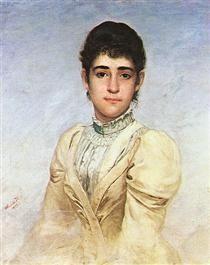 Retrato de Joana Liberal da Cunha - Almeida Júnior