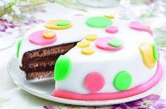 Čokoládový dort s marcipánem - Recepty na každý den