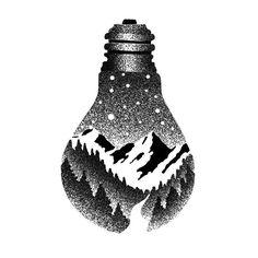 Light bulb By Tobias Schneider