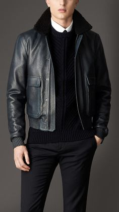 Choosing The Right Men's Leather Jackets – Revival Clothing Leather Fashion, Leather Men, Mens Fashion, Leather Jackets, Fashion Wear, Pink Leather, Gents Shirts, Revival Clothing, Men's Coats And Jackets