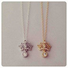 Crown necklace - imsmistyle