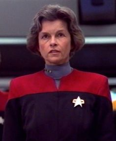 Geneviève Bujold, a French-Canadian actress, was the first choice of the producers of Star Trek: Voyager to play Captain Nicole Janeway. She quit after a day and a half of shooting.... The producers subsequently hired TV veteran Kate Mulgrew, and changed the captain's first name from Nicole to Kathryn at Mulgrew's advice.
